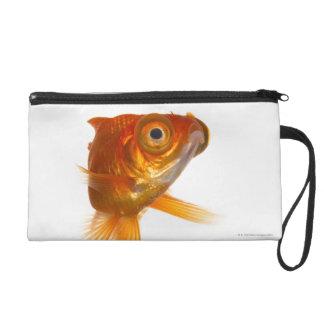 Goldfish with Big eyes 3 Wristlet Clutch