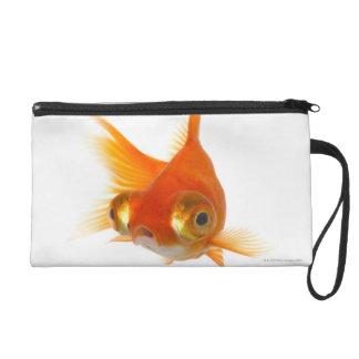 Goldfish with Big eyes Wristlet Purse