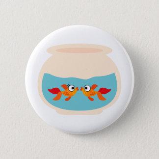 GoldfishFun4 6 Cm Round Badge
