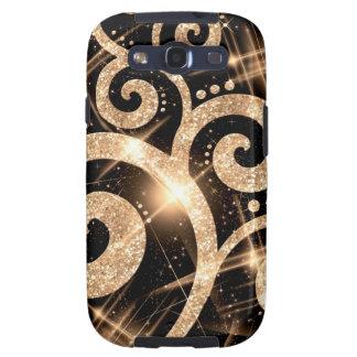 GoldGlitter Galaxy S3 Case