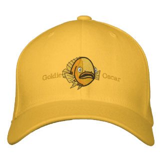 Goldie Oscar Fish Embroidered Hat