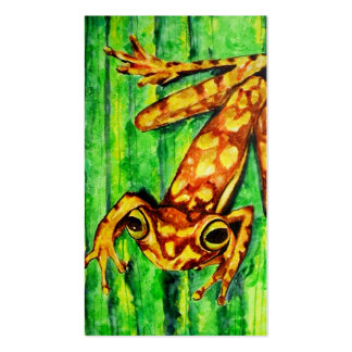 Goldie The Tree Frog Business Cards