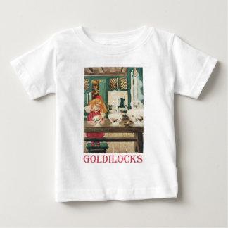 Goldilocks and the Three Bears Baby T-Shirt