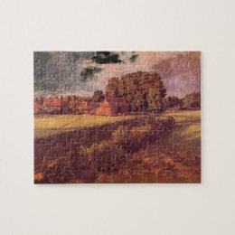 Golding Constable's Flower Garden'_Landscapes Jigsaw Puzzle