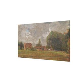 Golding Constable's House, East Bergholt: The Arti Canvas Print