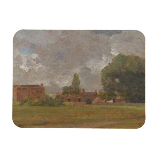 Golding Constable's House, East Bergholt: The Arti Rectangular Photo Magnet
