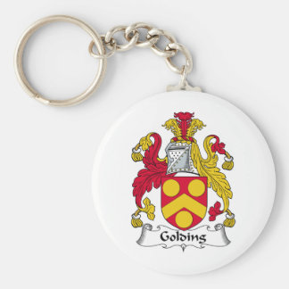 Golding Family Crest Key Chain
