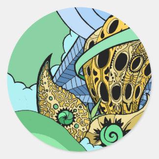 Goldlief Classic Round Sticker