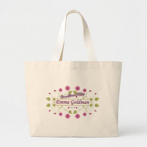 Goldman ~ Emma Goldman Famous USA Women Tote Bag