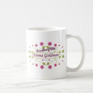 Goldman ~ Emma Goldman Famous USA Women Coffee Mugs