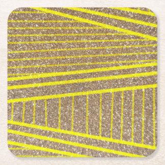 Goldmine Square Paper Coaster