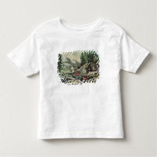 Goldmining in California, 1871 Toddler T-Shirt