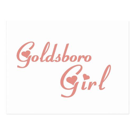 Goldsboro Girl tee shirts Postcard