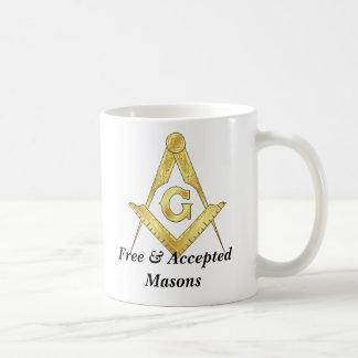 goldsquare, goldsquare, Free & Accepted Masons Coffee Mug