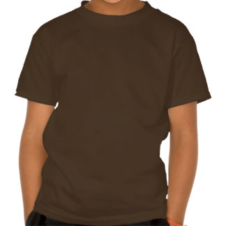 GOLDSTAR Constellation on Silky Red Fabric Pattern Tee Shirt