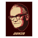 Goldwater AuH2O Customisable Poster