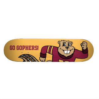 Goldy Gopher Skateboard Decks