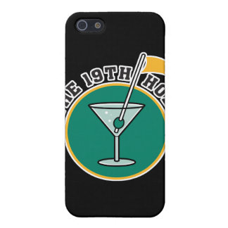 golf 19th hole drink time humor iPhone 5 cases