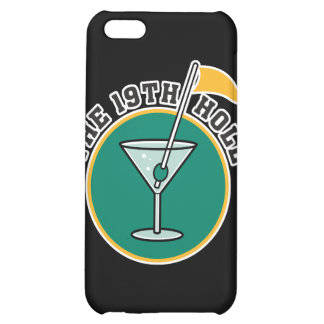 golf 19th hole drink time humor iPhone 5C cover