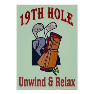 Golf-19th Hole Poster