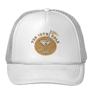 Golf 19th Hole T-shirts and Gifts Mesh Hats