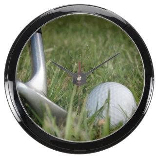 golf-22 fish tank clocks