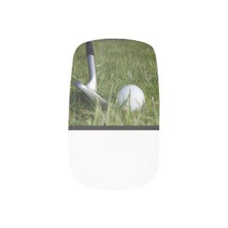golf-22 nail sticker