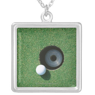 Golf 2 silver plated necklace