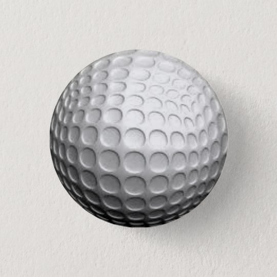 Golf 3 Cm Round Badge