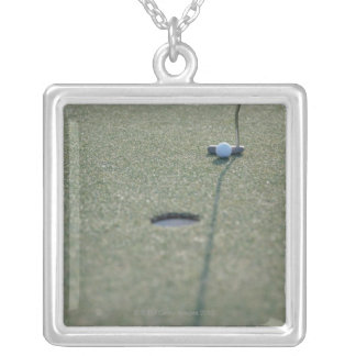 Golf 3 silver plated necklace