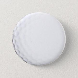 Golf 6 Cm Round Badge
