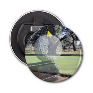 Golf Addiction, Magnetic Bottle Opener. Bottle Opener