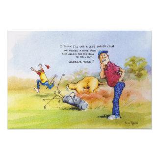 Golf advice photograph