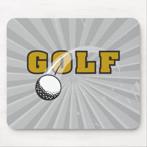 golf and goflball text logo design