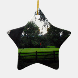 Golf Anyone Ceramic Star Decoration