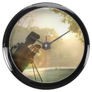 Golf Aquarium Clock