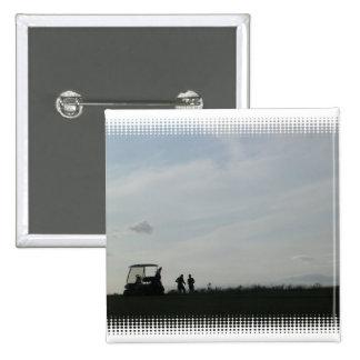 Golf at Dusk Pin