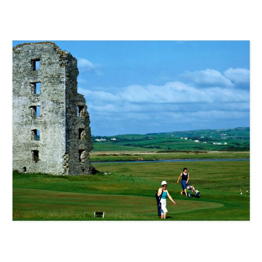 Golf at Lahinch, County Clare, Ireland in Europe