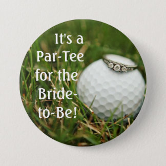 golf bachelorette button