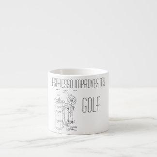 GOLF BAG PATENT 1929 - Espresso Mug