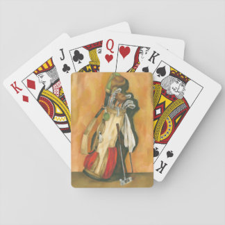 Golf Bag with Glove by Jennifer Goldberger Playing Cards