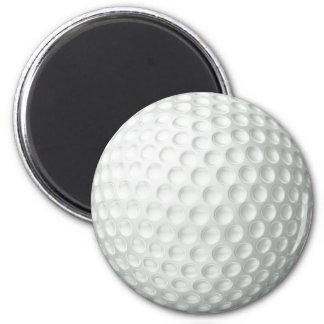 Golf Ball 6 Cm Round Magnet