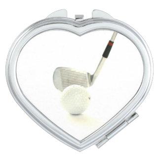Golf Ball and Club Travel Mirrors