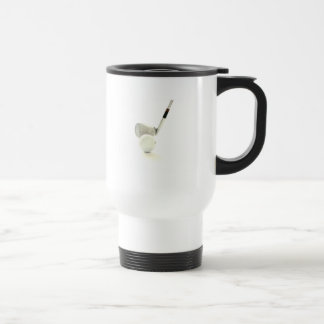 Golf Ball and Club Plastic Travel Mug
