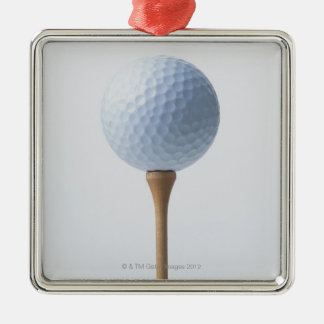Golf Ball and Tee Christmas Ornament