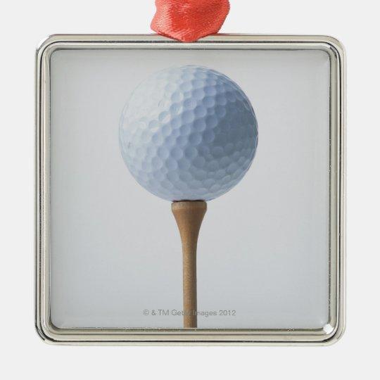 Golf Ball and Tee Christmas Ornament