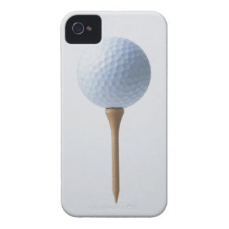 Golf Ball and Tee iPhone 4 Case