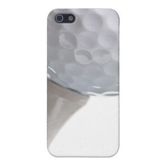 Golf Ball and  Tee on White Customized Template Case For iPhone 5/5S