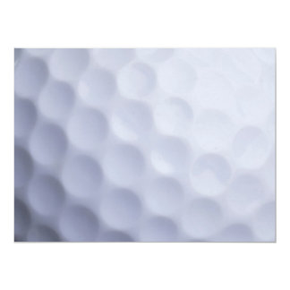Golf Ball Background Customized Template 17 Cm X 22 Cm Invitation Card