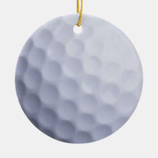 Golf Ball Background Customized Template Christmas Ornament